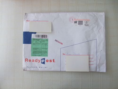 1st envelope