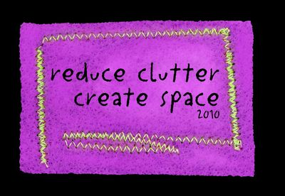 Reduce clutter purplestag