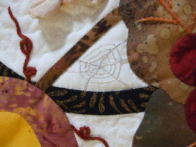 Autumn cobweb