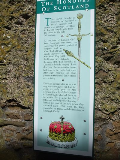Honours of Scotland - Dunnottar
