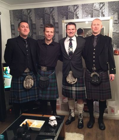 Kilty boys
